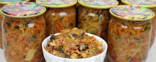 Рецепты овощной солянки на зиму в банках