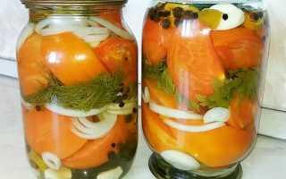 Рецепты заготовки помидоров по-чешски на зиму