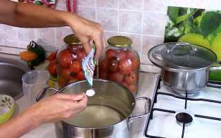 Рецепты заготовок помидоров с лимонной кислотой на зиму