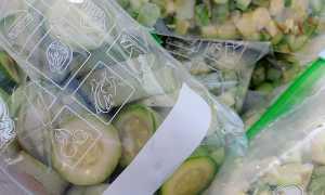 Как лучше замораживать кабачки на зиму: способы заморозки