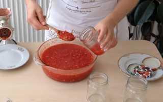Рецепты сырой и вареной аджики с хреном на зиму
