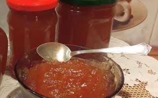 Подборка простых рецептов приготовления джема из яблок на зиму в домашних условиях