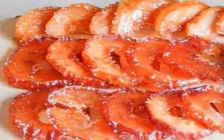Как сделать цукаты из яблок в домашних условиях: пошаговые рецепты