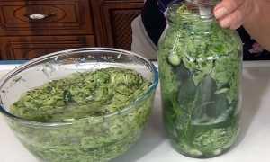 Рецепты заготовки огурцов в собственном соку на зиму