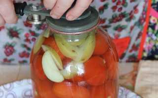 Рецепты заготовки помидоров с яблоками на зиму