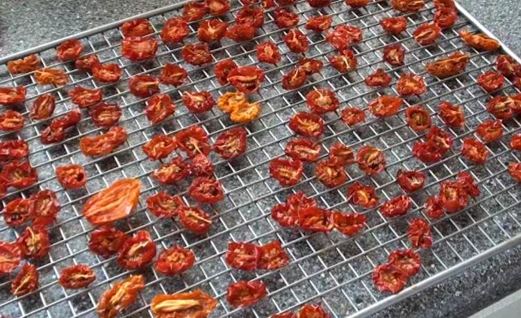 вяленые томаты из духовки