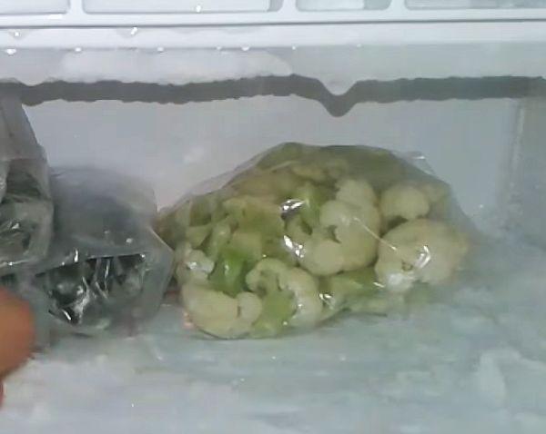 хранение в морозилке